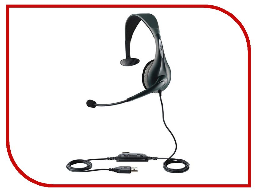 Гарнитура Jabra UC VOICE 150 Mono USB MS NC WB 1593-823-109 bluetooth гарнитура jabra motion uc ms черный 6640 906 301