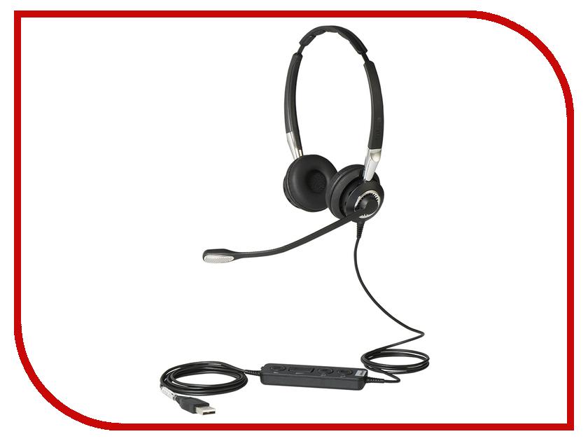 Гарнитура Jabra BIZ 2400 II Duo USB UC 2499-829-309<br>