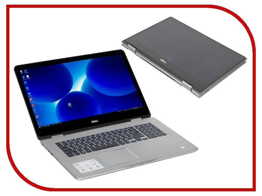 Ноутбук Dell Inspiron 7778 7778-5452 (Intel Core i5-6200U 2.3 GHz/12288Mb/1000Gb/nVidia GeForce 940M/Wi-Fi/Bluetooth/Cam/17.3/1920x1080/Touchscreen/Windows 10 64-bit)<br>