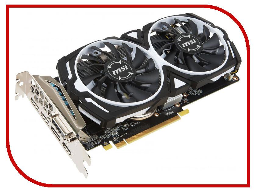 Видеокарта MSI Radeon RX 470 ARMOR 1230Mhz PCI-E 3.0 8192Mb 6600Mhz 256 bit DVI HDMI HDCP RX 470 ARMOR 8G OC