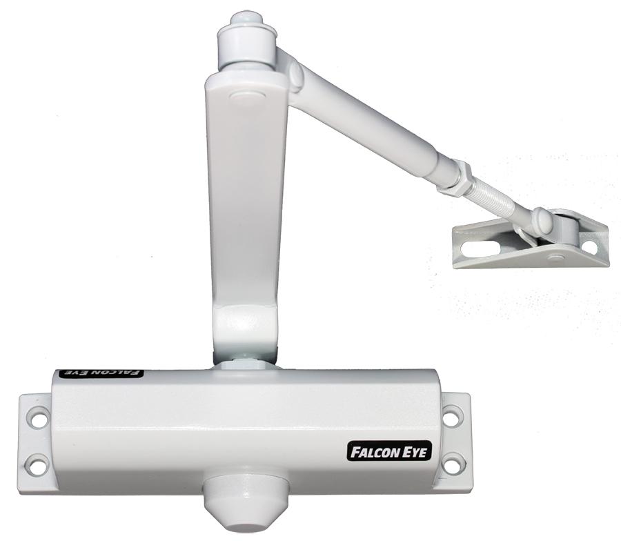 Доводчик дверной Falcon Eye FE-B2W 25-45kg White доводчик дверной нора м 2s 50кг white 4984