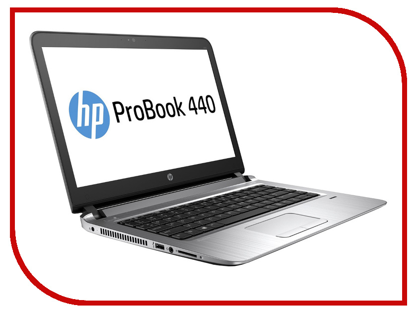 Ноутбук HP Probook 440 W4P09EA Intel Core i7-6500U 2.5 GHz/8192Mb/256Gb SSD/No ODD/Intel HD Graphics/Wi-Fi/Bluetooth/Cam/14.0/1920x1080/Windows 7 64-bit