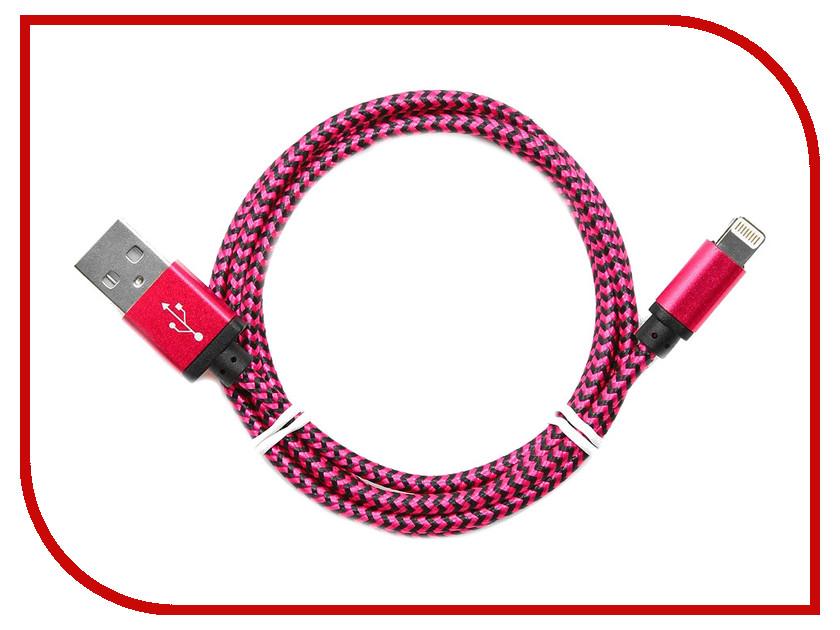 Аксессуар Gembird Cablexpert USB AM/Lightning 8P 1m Purple CC-ApUSB2pe1m