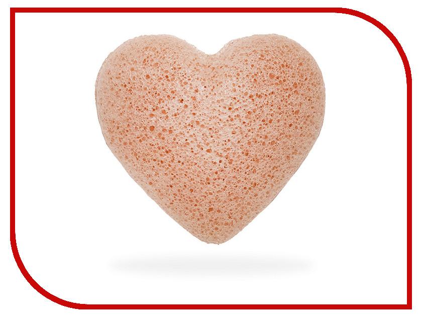 Средство для ухода за лицом The Konjac Sponge Company Premium сердце с розовой глиной teleport company ltd