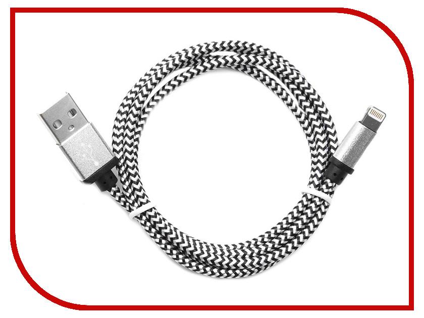 Аксессуар Gembird Cablexpert USB AM/Lightning 8P 1m Silver CC-ApUSB2sr1m аксессуар gembird cablexpert dvi d single link 19m 19m 1 8m black cc dvi bk 6