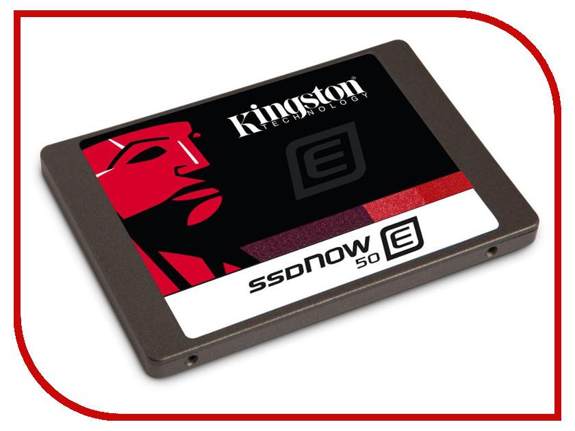 Жесткий диск 100Gb - Kingston SSDNow E50 SE50S37/100G<br>
