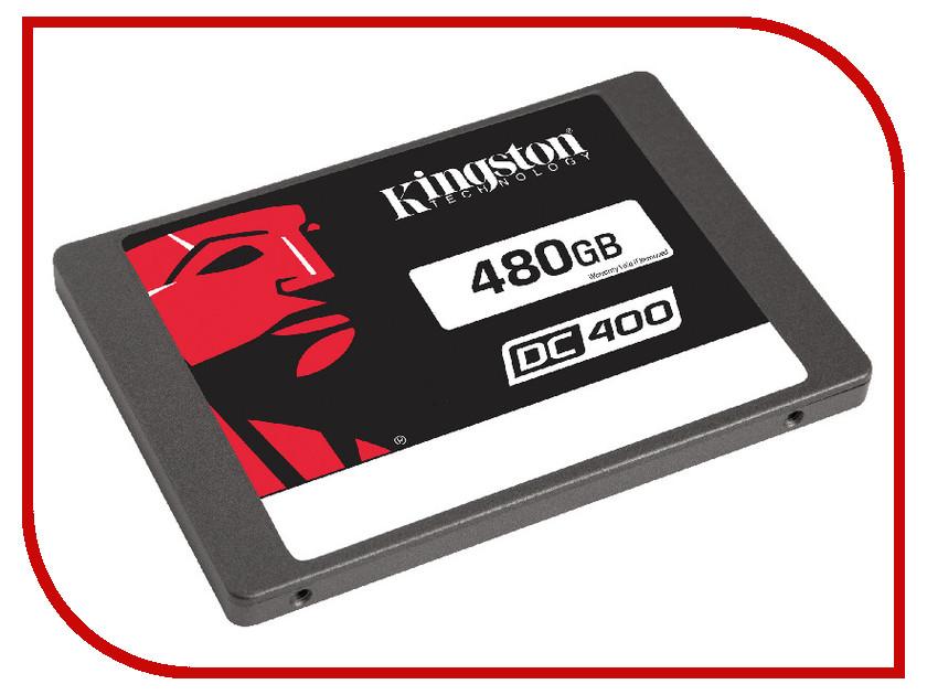 Жесткий диск 480Gb - Kingston DC400 SEDC400S37/480G жесткий диск 30gb kingston sms200s3 30g