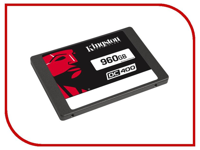 Жесткий диск 960Gb - Kingston DC400 SEDC400S37/960G kingston dc400 960gb ssd накопитель sedc400s37 960g
