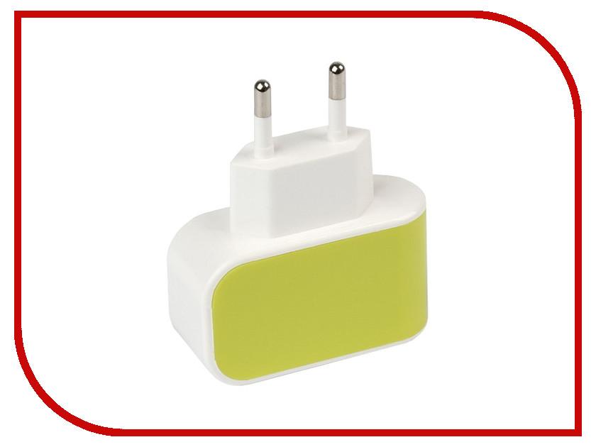 Зарядное устройство SmartBuy Color Charge Combo USB Yellow SBP-8080<br>