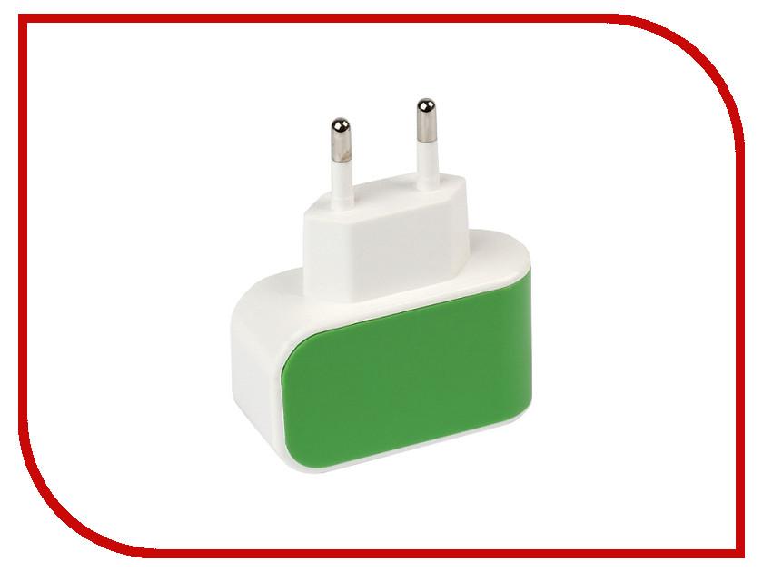 Зарядное устройство SmartBuy Color Charge 1xUSB универсальное Green SBP-8040