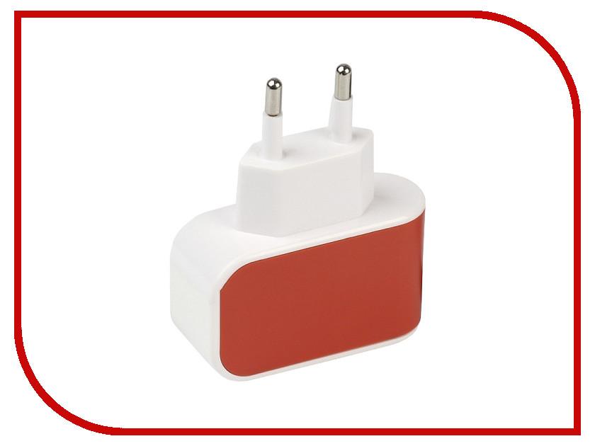 Зарядное устройство SmartBuy Color Charge 1xUSB универсальное Orange SBP-8050