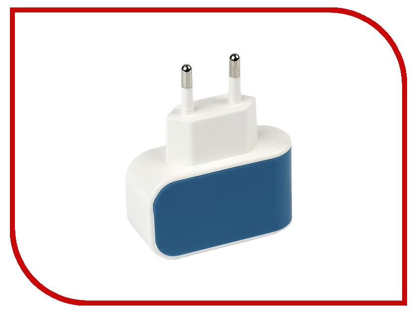 Зарядное устройство SmartBuy Color Charge 1xUSB универсальное Blue SBP-8010