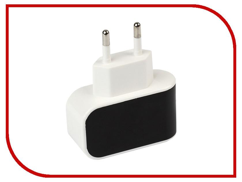 Зарядное устройство SmartBuy Color Charge 1xUSB универсальное Black SBP-8000