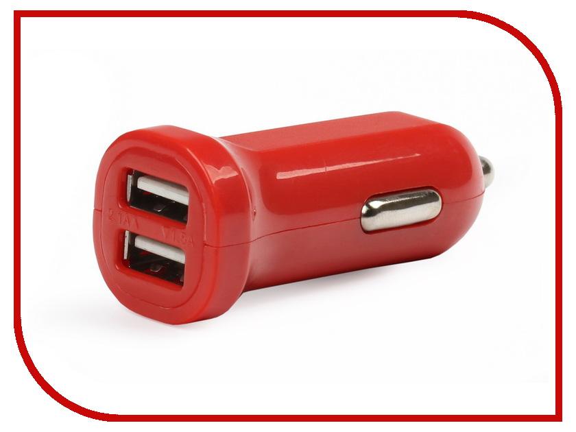 Зарядное устройство SmartBuy Car Craft 2.1А 2xUSB универсальное Red SBP-8320<br>