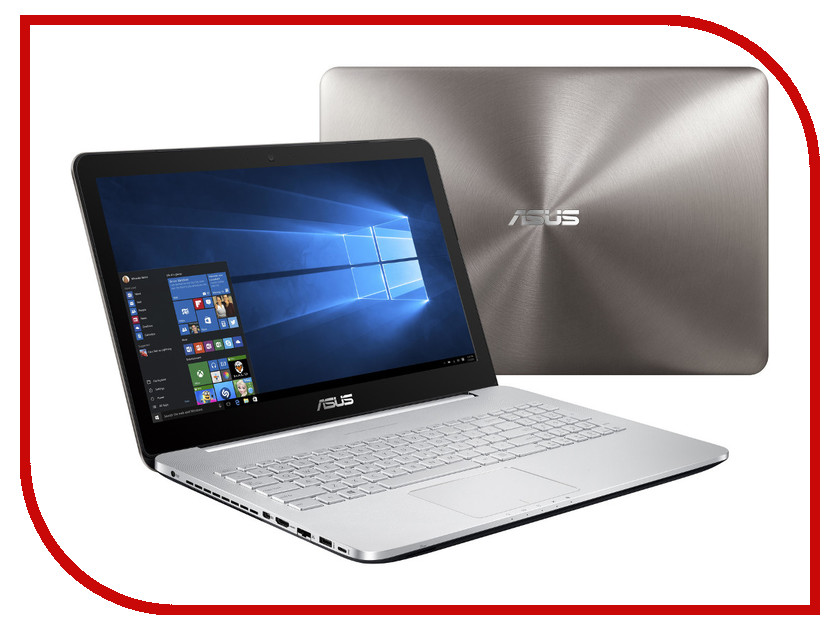 Ноутбук ASUS N552VW-FI191T 90NB0AN1-M02340 (Intel Core i7-6700HQ 2.6 GHz/8192Mb/1000Gb/DVD-RW/nVidia GeForce GTX 960M 2048Mb/Wi-Fi/Cam/15.6/2560x1440/Windows 10 64-bit)<br>