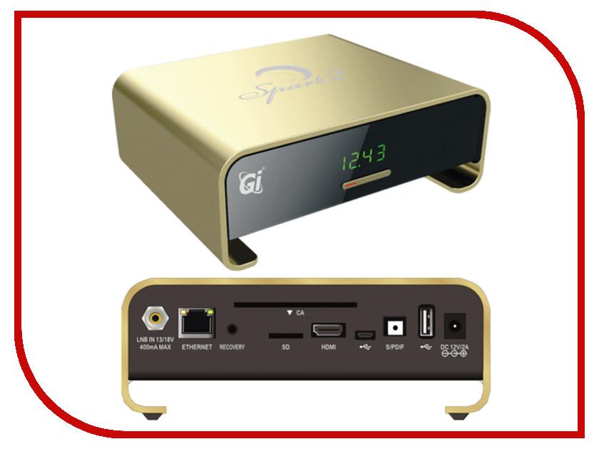 Комплект спутникового телевидения Galaxy Innovations Spark 2 Gold<br>