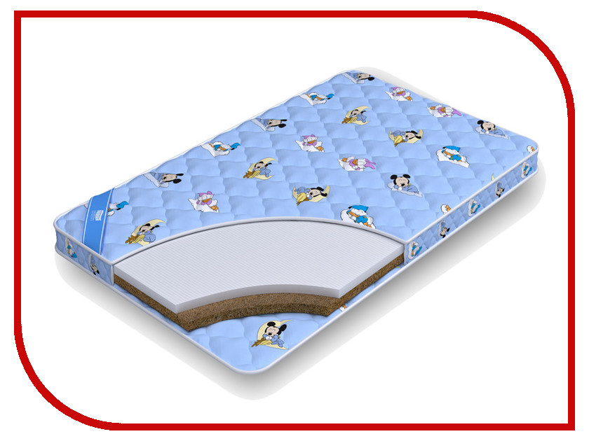 Детский матрас Промтекс-Ориент Biba Латекс-Кокос 60x120cm<br>