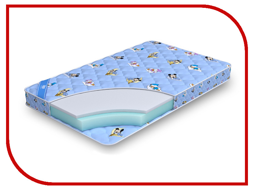 Детский матрас Промтекс-Ориент Biba Стандарт струтто 60x120cm<br>