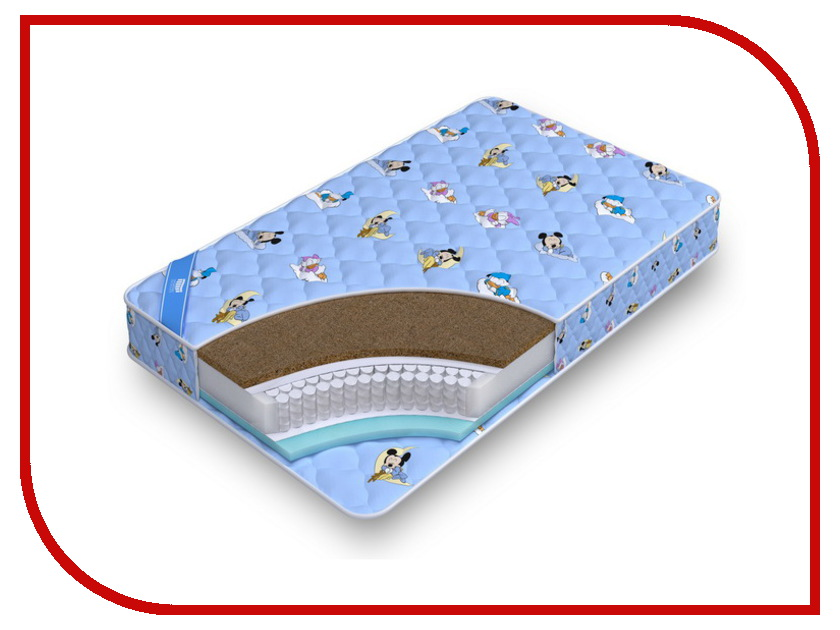 Детский матрас Промтекс-Ориент Teen Стандарт Комби 60x120cm<br>