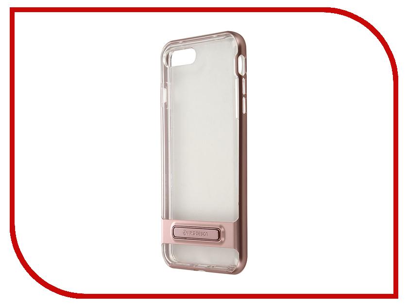 Аксессуар Чехол Verus Crystal Bumper для APPLE iPhone 7 Plus Rose Gold 904634<br>