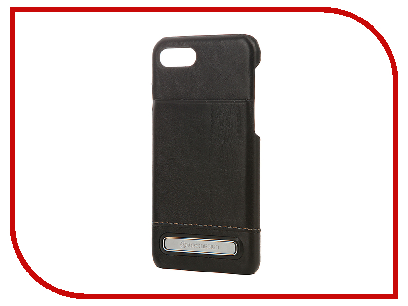 Аксессуар Чехол Verus Simpli Leather для APPLE iPhone 7 Black 904733<br>