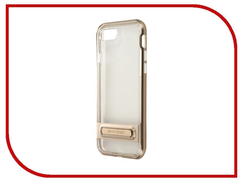 Аксессуар Чехол Verus Crystal Bumper для APPLE iPhone 7 Champagne 904597<br>