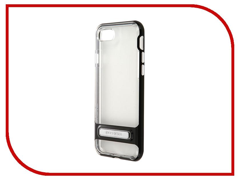 Аксессуар Чехол Verus Crystal Bumper для APPLE iPhone 7 Black 904756<br>