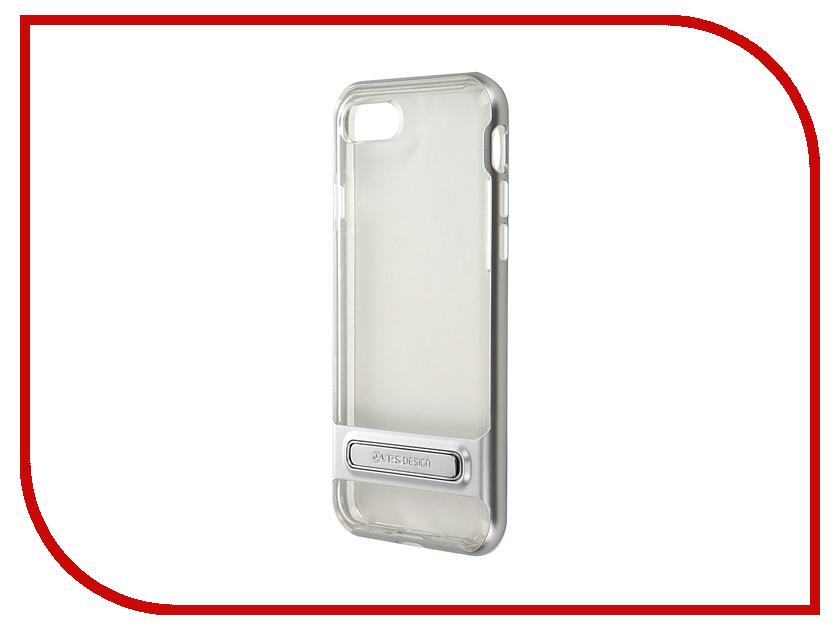 Аксессуар Чехол Verus Crystal Bumper для APPLE iPhone 7 Silver 904598<br>