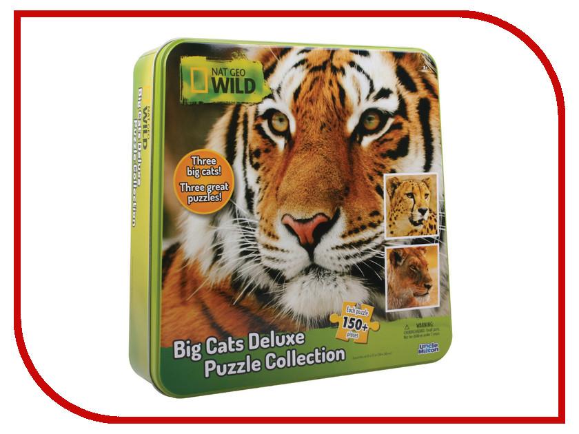 все цены на  Пазл Uncle Milton Гепард, тигр и лев 16445  в интернете