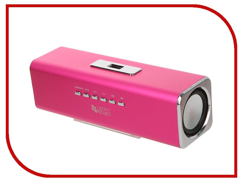 Колонка Liberty Project K-101 Pink CD124410 liberty project cd020532 pink
