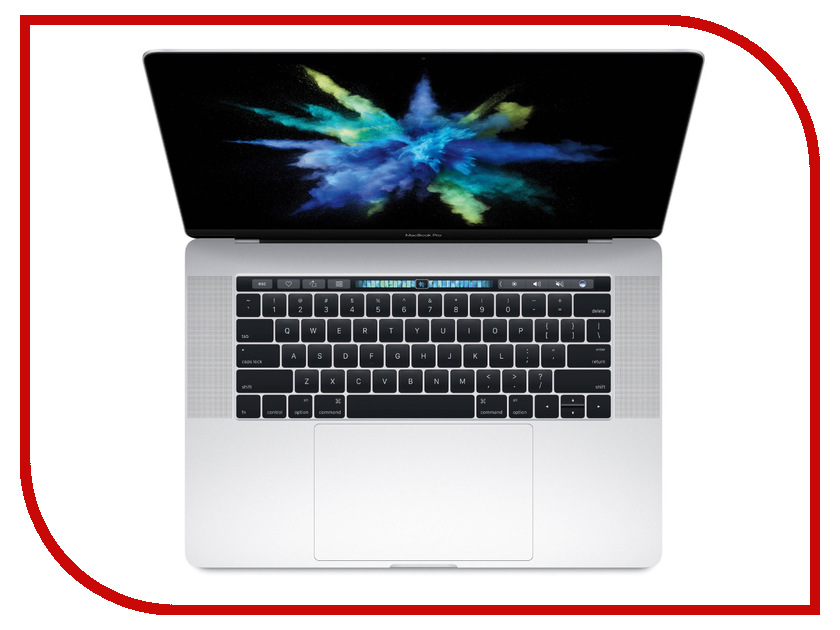 Ноутбук APPLE MacBook Pro 15 Silver MLW82RU/A (Intel Core i7 2.7 GHz/16384Mb/512Gb/Radeon Pro 455 2Gb/Wi-Fi/Bluetooth/Cam/15.4/2880x1800/Mac OS Sierra) ноутбук apple macbook core m3 1 2ghz 12 8gb ssf256gb hdg615 mac os x gray mnyf2ru a