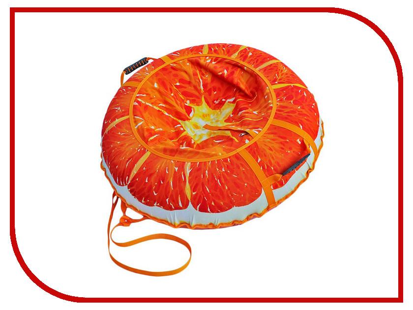 Тюбинг Митек Дизайн 110см Сочный Апельсин