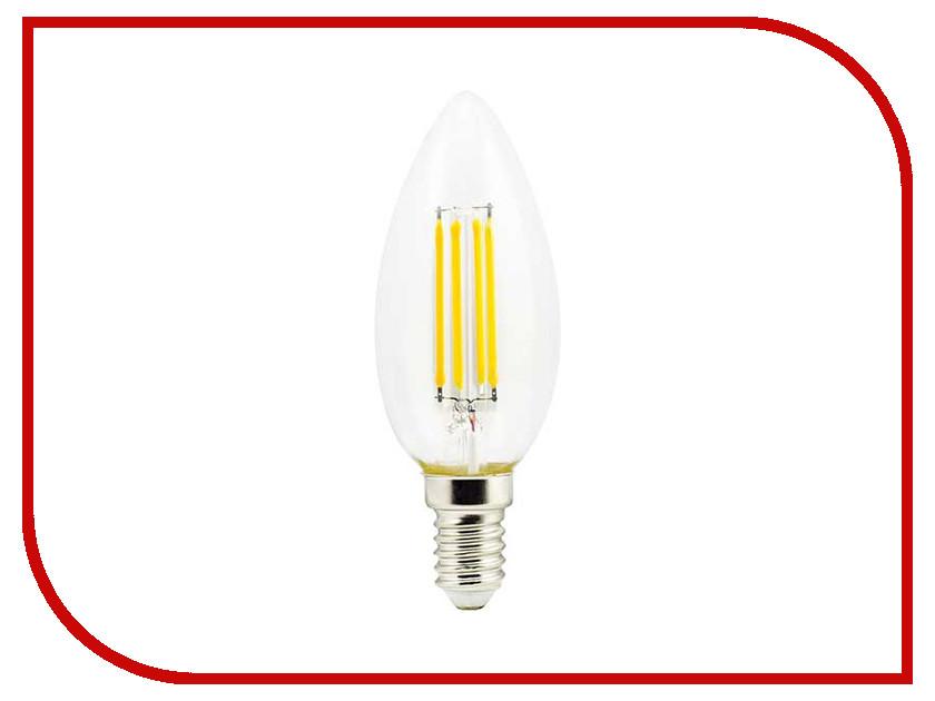 Лампочка Ecola Candle LED E14 5W 220V 2700K N4CW50ELC лампочка ecola globe led e14 7w g45 220v 4000k k4lv70elc