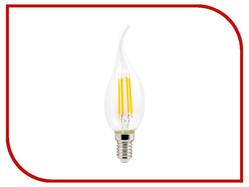 Лампочка Ecola Candle LED E14 5W 220V 4000K N4YV50ELC лампочка ecola light classic led e27 11 5w a60 220v 2700k tk7w11elc
