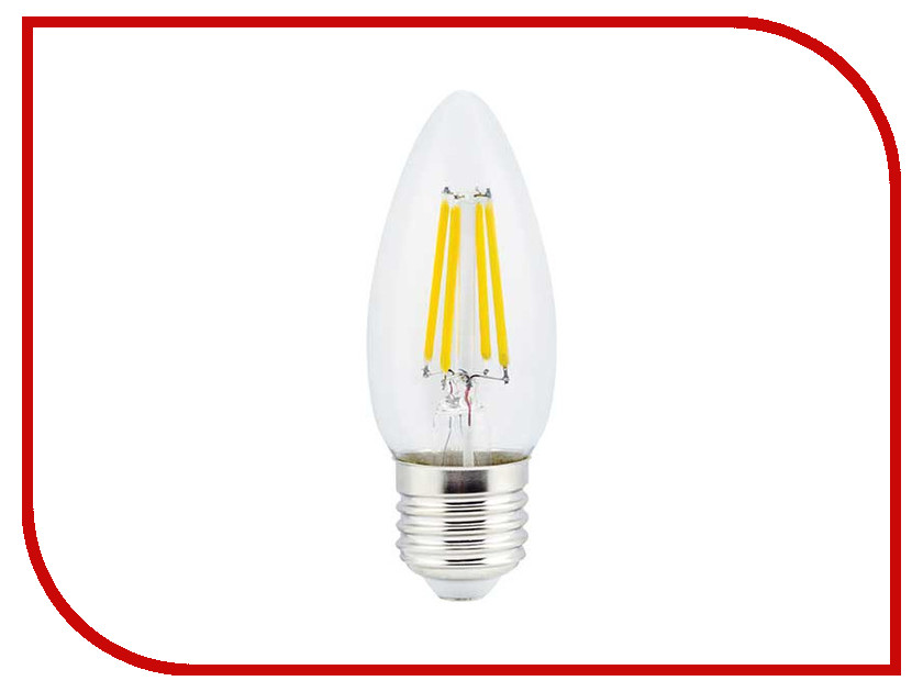 Лампочка Ecola Candle LED E27 5W 220V 2700K N7CW50ELC<br>