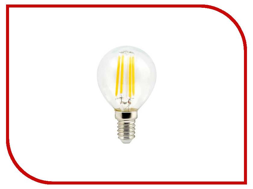 Лампочка Ecola Globe LED Premium E14 5W G45 220V 4000K N4PV50ELC лампочка luna led g9 eco 5w 4000k 220v 60251