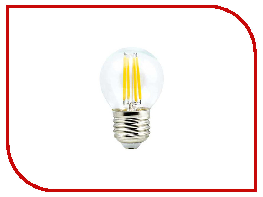 Лампочка Ecola Globe LED Premium E27 5W G45 220V 4000K N7PV50ELC лампочка ecola globe led e14 7w g45 220v 4000k k4lv70elc