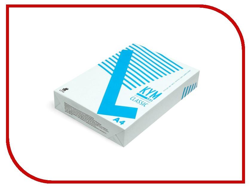 Бумага KYM Lux Classic A4 80g/m2 500 листов бумага iq color a4 80g m2 500 листов pastel dark cream sa24 110787