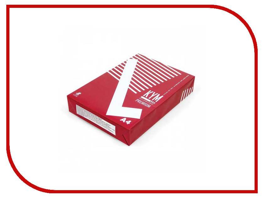 Бумага KYM Lux Premium A4 80g/m2 класс A 500 листов<br>