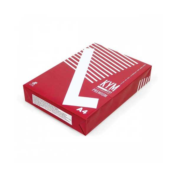 цена на Бумага KYM Lux Premium A4 80g/m2 класс A 500 листов