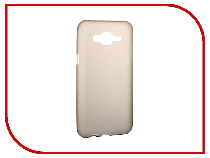 Аксессуар Чехол Samsung Galaxy J5 Cojess Silicone Grey Mat<br>