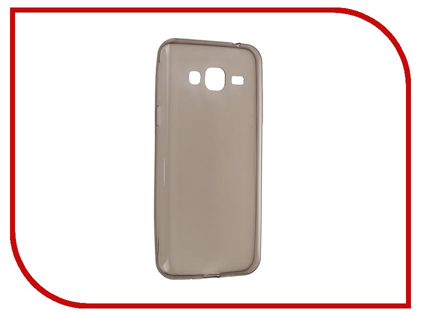 Аксессуар Чехол Samsung Galaxy J3/J3 2016 Cojess Silicone 0.3mm Grey<br>