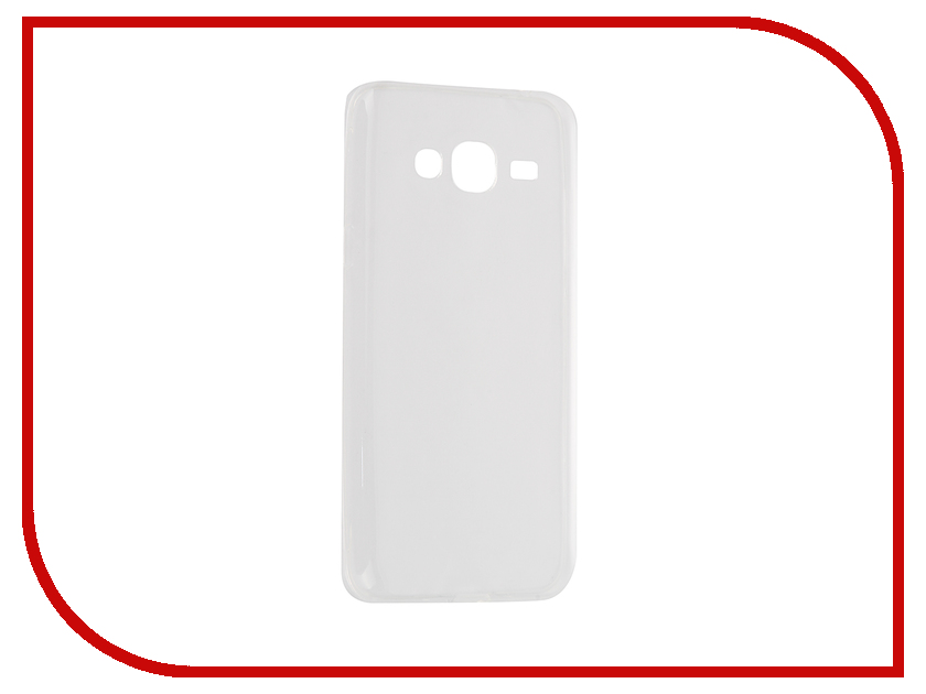Аксессуар Чехол Samsung Galaxy J3/J3 2016 Cojess Silicone 0.3mm Transparent<br>
