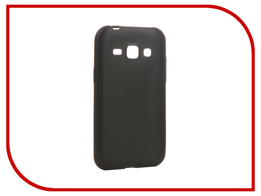 Аксессуар Чехол Samsung Galaxy J1/J100H/DS Cojess Silicone 0.3mm Black Mate<br>