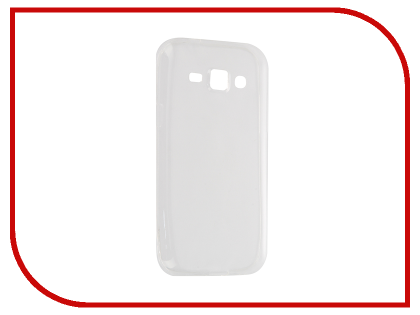 Аксессуар Чехол Samsung Galaxy J1/J100H/DS Cojess Silicone 0.3mm Transparent<br>