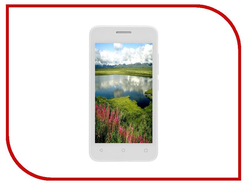 Сотовый телефон Fly FS407 Stratus 6 Dual Sim White<br>