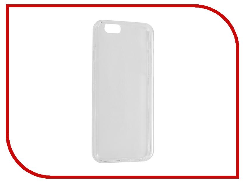 Аксессуар Чехол Cojess Silicone для APPLE iPhone 6 / 6s Classic Transparent<br>