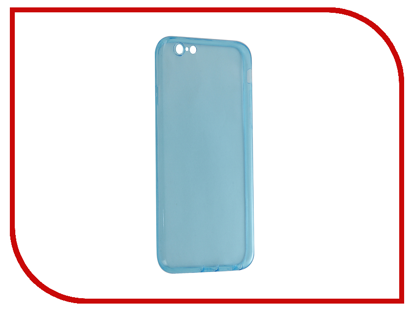 Аксессуар Чехол Cojess Classic Silicone для APPLE iPhone 6 / 6S Blue<br>