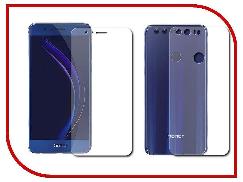 все цены на Аксессуар Защитная пленка Huawei Honor 8 LuxCase Front&Back Суперпрозрачная 51676 онлайн