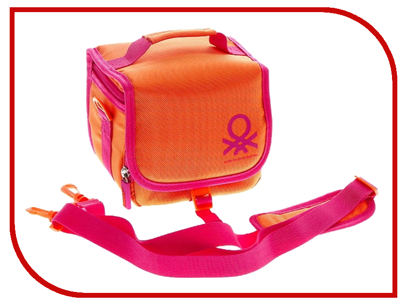 Сумка Benetton Bridge Case S Digital Orange
